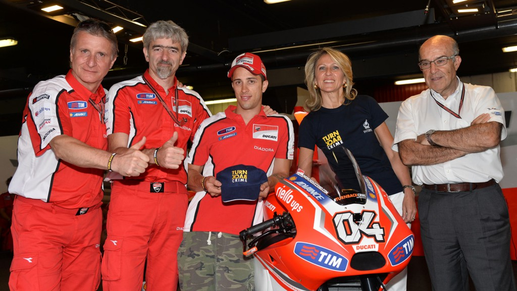 Ducati Team and Interpol join forces to #TurnBackCrime