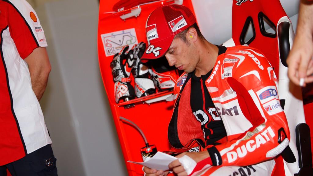 Andrea Dovizioso, Ducati Team, CAT Q2