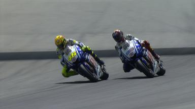 Rossi vs Lorenzo: Pure Track