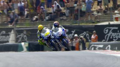 Rossi vs Lorenzo: Re-live the last 3 laps