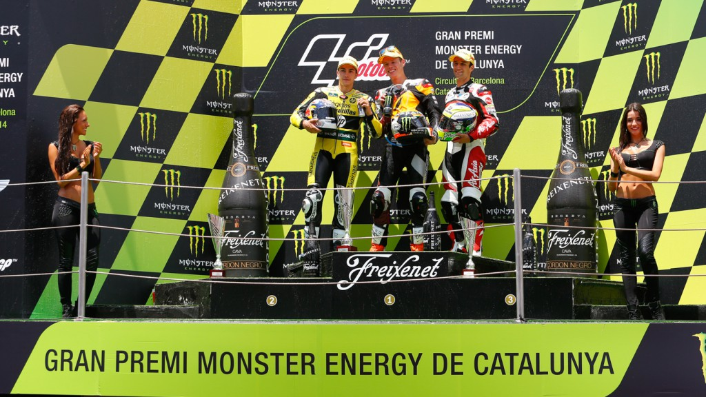 Moto2 Podium, CAT RACE