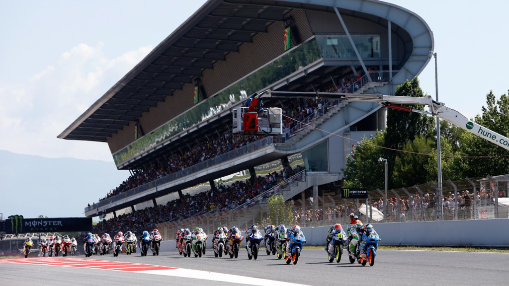 Moto3 Start, CAT RACE