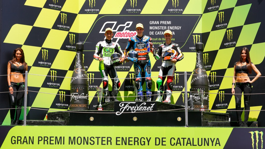 Moto3 Podium, CAT RACE