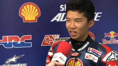 2014 - Shell Advance Asia Talent Cup - Zhuhai Sunday Race - Yuta Date - Interview