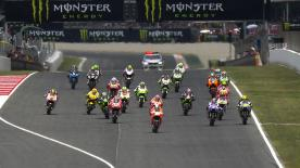 The Gran Premi Monster Energy de Catalunya produced another brilliant race on Sunday, with Marc Marquez securing the victory on the final lap ahead of Valentino Rossi and Dani Pedrosa.