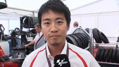Catalunya 2014 - MotoGP - RACE - Interview - Taku Arai