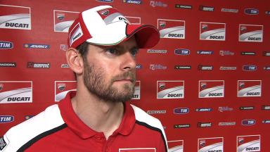 Crutchlow disappointed and frustrated but determined to improve