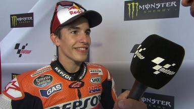 Catalunya 2014 - MotoGP - RACE - Interview - Marc Marquez