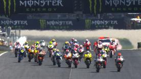Tito Rabat extended his Moto2™ World Championship advantage with a dominant win from pole at the Gran Premi Monster Energy de Catalunya, with Maverick Viñales and Johann Zarco also on the podium.
