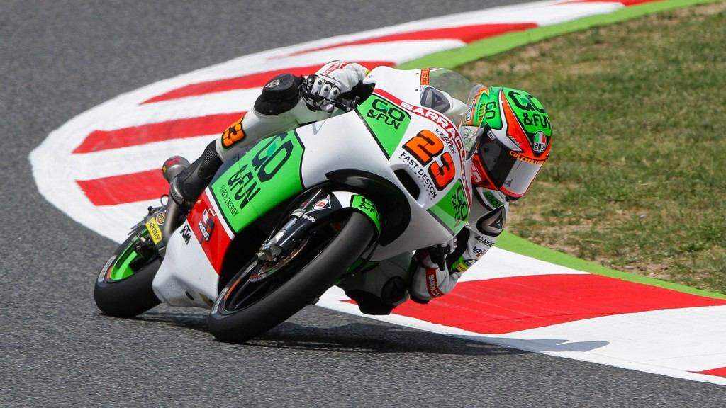 Niccolò Antonelli, Junior Team GO&FUN Moto3, CAT WUP