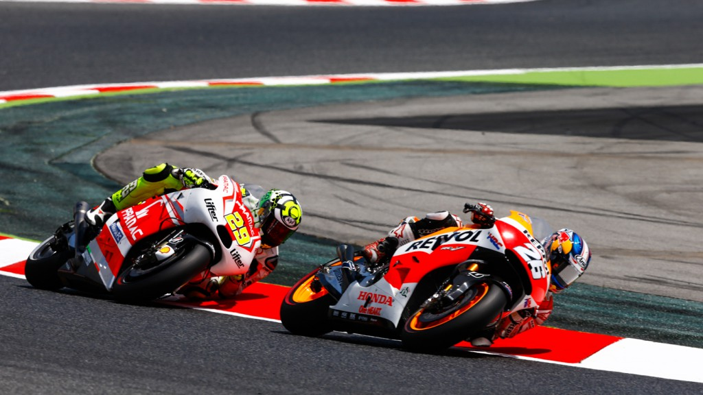Andrea Iannone, Dani Pedrosa, Pramac Racing, Repsol Honda Team, CAT WUP