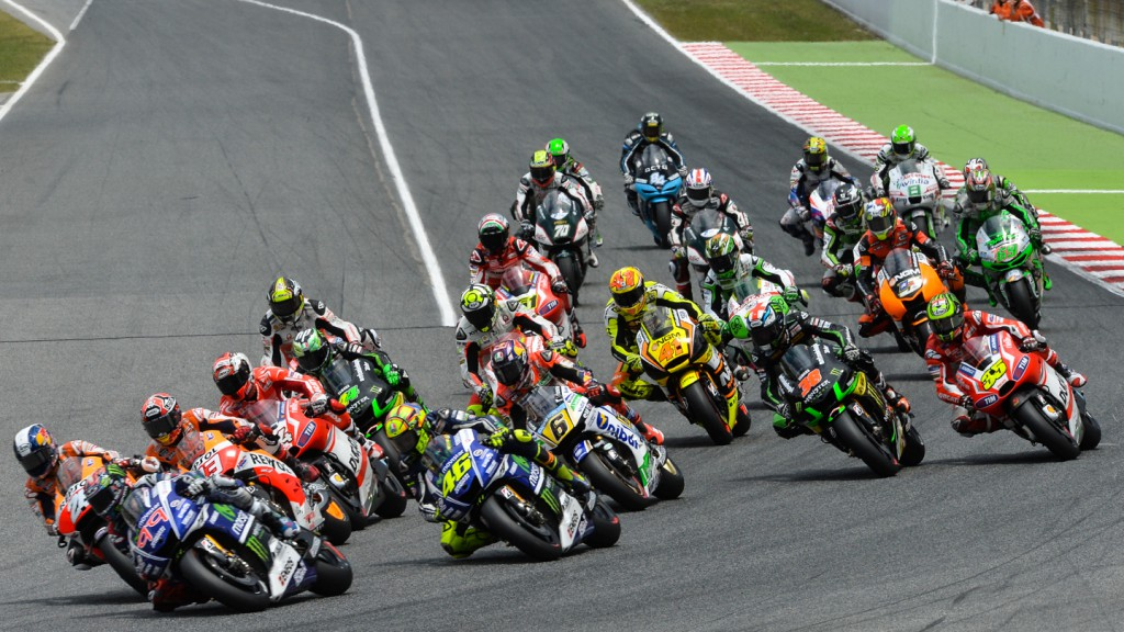MotoGP Start , CAT RACE