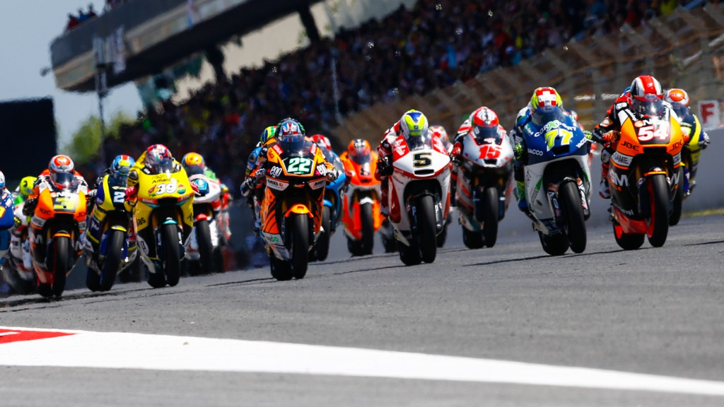 Moto2 Start, CAT RACE