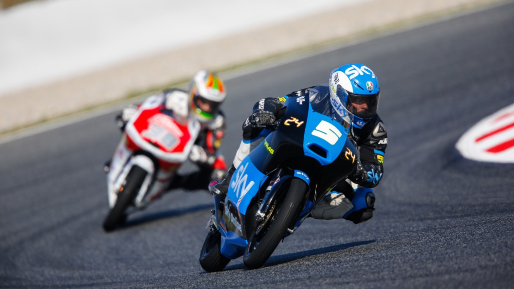 Romano Fenati, SKY Racing Team  VR46, CAT RACE