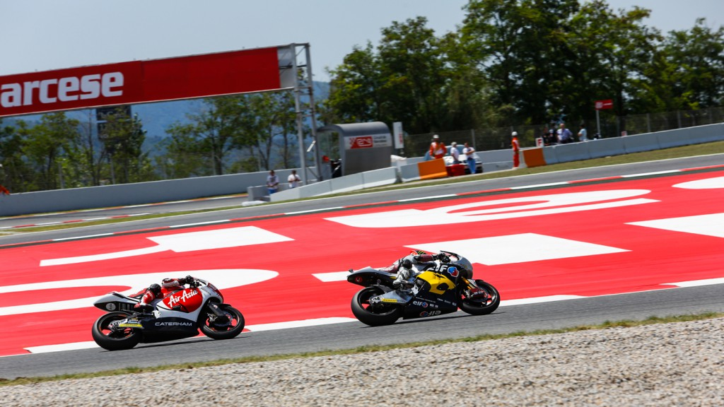 Esteve Rabat, Johann Zarco, AirAsia Caterham, Marc VDS Racing Team, CAT RACE