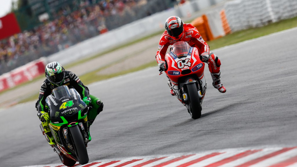 Andrea Dovizioso, Pol Espargaro, Ducati Team, Monster Yamaha Tech 3, CAT RACE