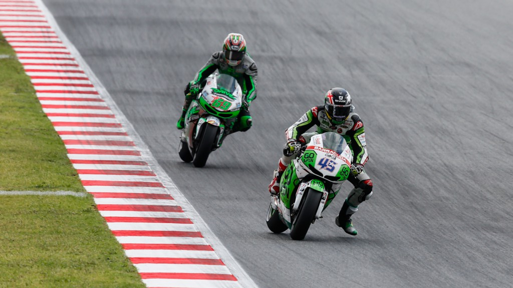 Scott Redding, Nicky Hayden, GO&FUN Honda Gresini, Drive M7 Aspar, CAT RACE