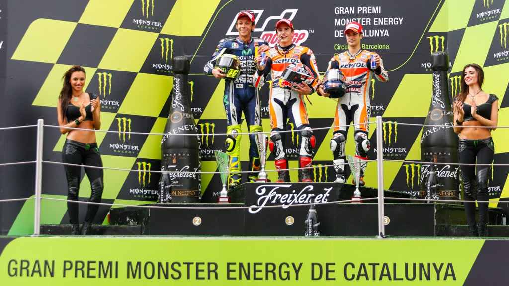 Podium MotoGP, CAT RACE