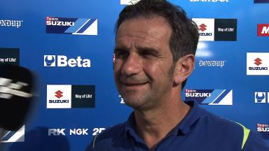 Brivio: 'Suzuki must use test days properly'