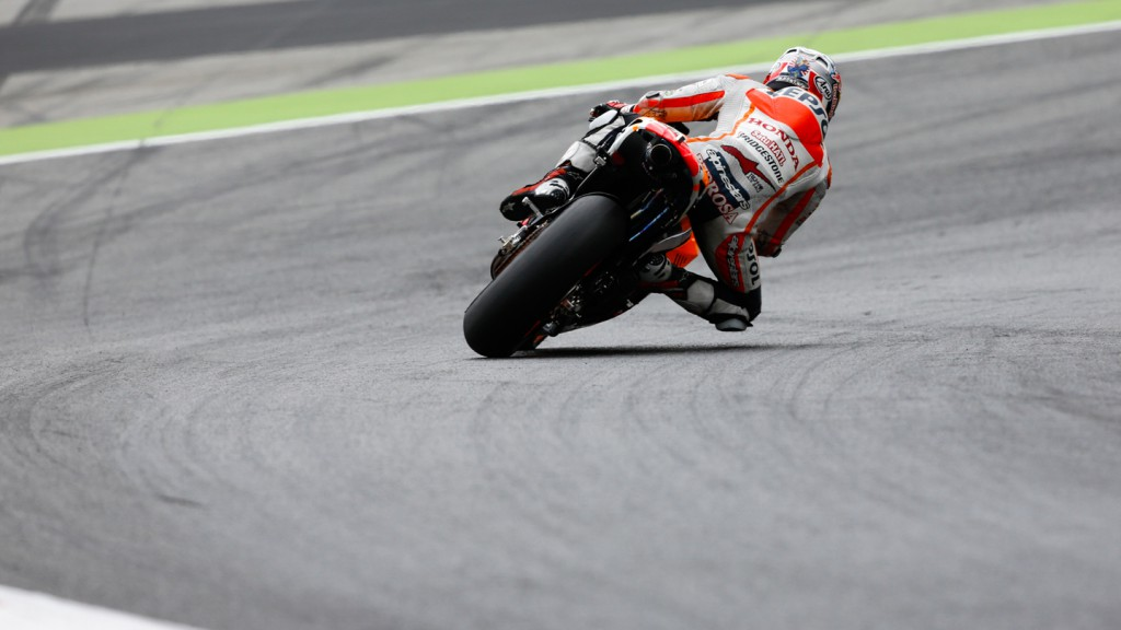 Dani Pedrosa, Repsol Honda Team, CAT Test