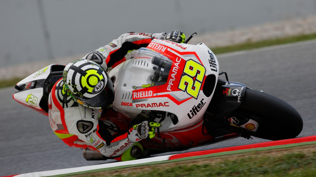 Andrea Iannone, Pramac Racing, CAT Test
