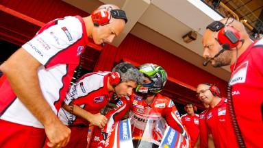 Cal Crutchlow, Ducati Team, CAT Test