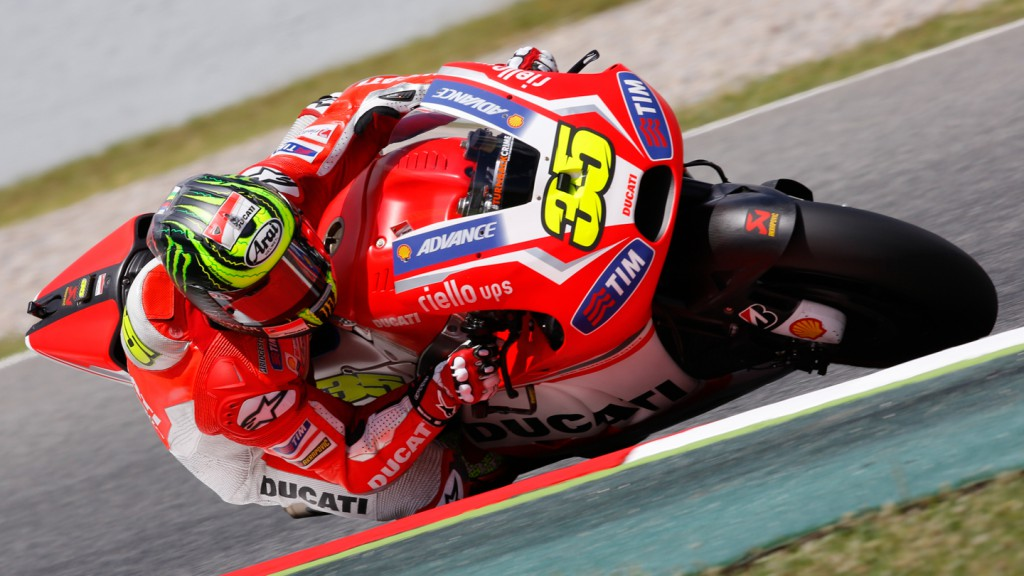 Cal Crutchlow, Ducati Team, CAT Test