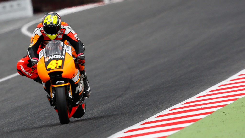 Aleix Espargaro, NGM Forward Racing, CAT Test