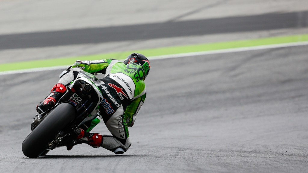 Scott Redding, GO&FUN Honda Gresini, CAT Test