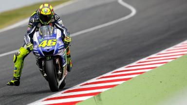 Valentino Rossi, Movistar Yamaha MotoGP, CAT Test