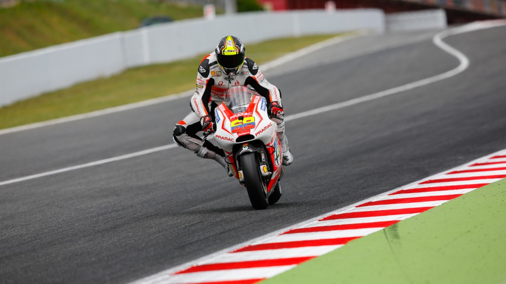 Yonny Hernandez, Pramac Racing, CAT Test