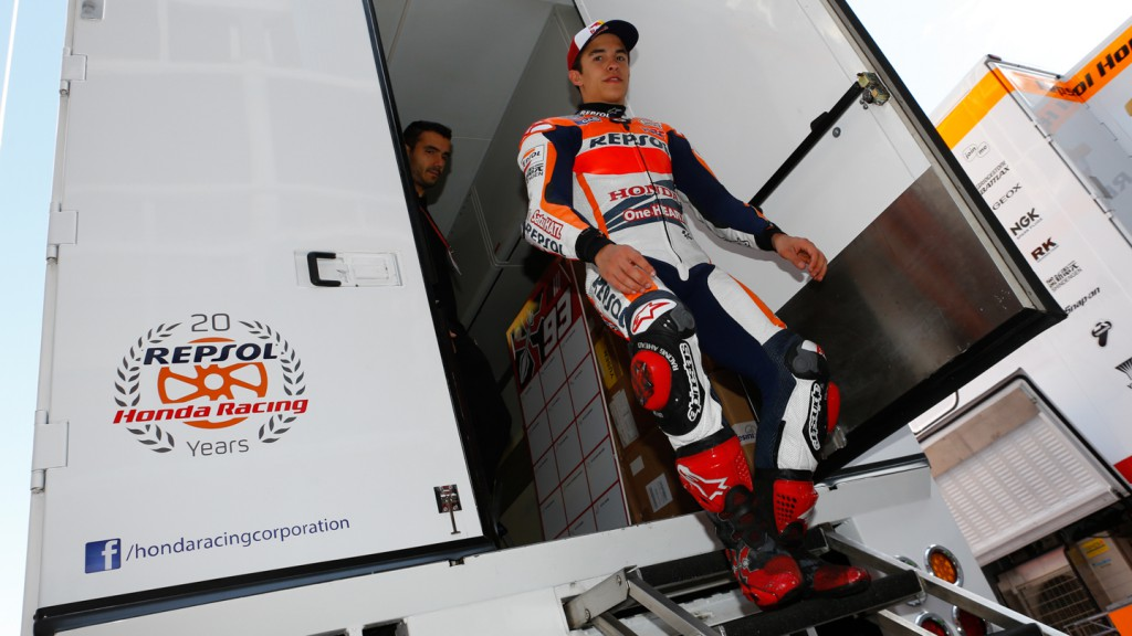 Marc Marquez, Repsol Honda Team, CAT Test