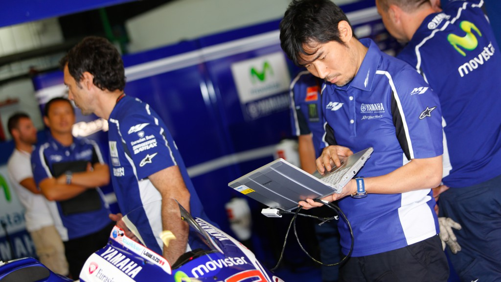 Jorge Lorenzo's team, Movistar Yamaha MotoGP, CAT Test
