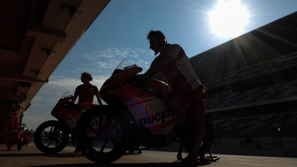 Ducati Team, CAT Test