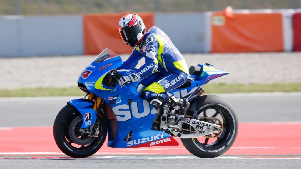 Randy De Puniet, Suzuki MotoGP Test Team, CAT Test