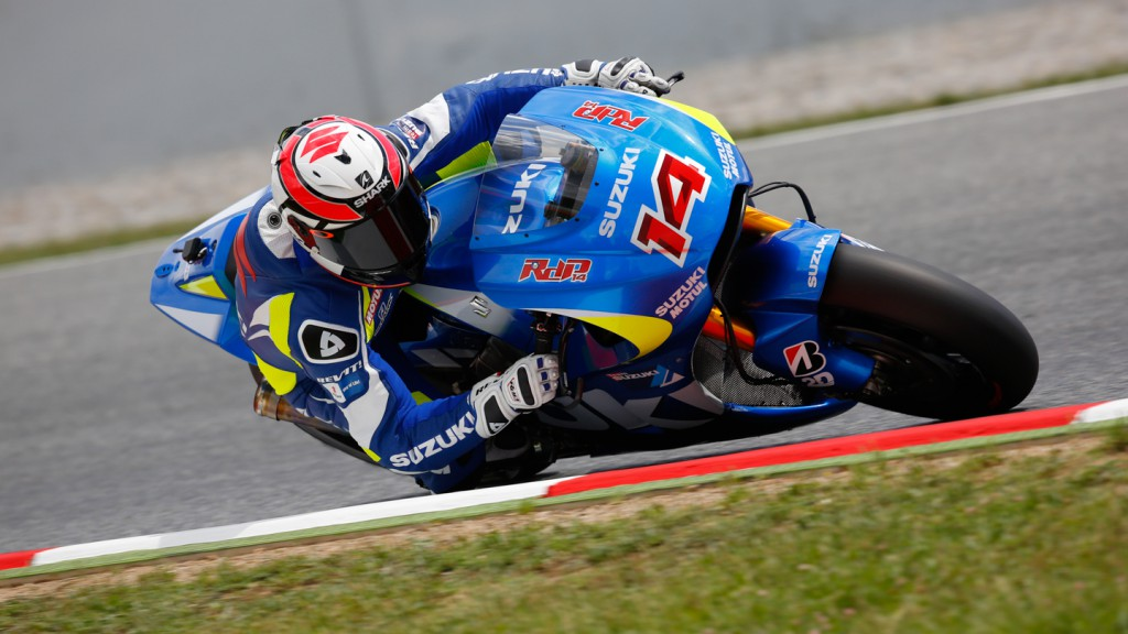 Randy De Puniet, Suzuki MotoGP Test Team, CAT Test