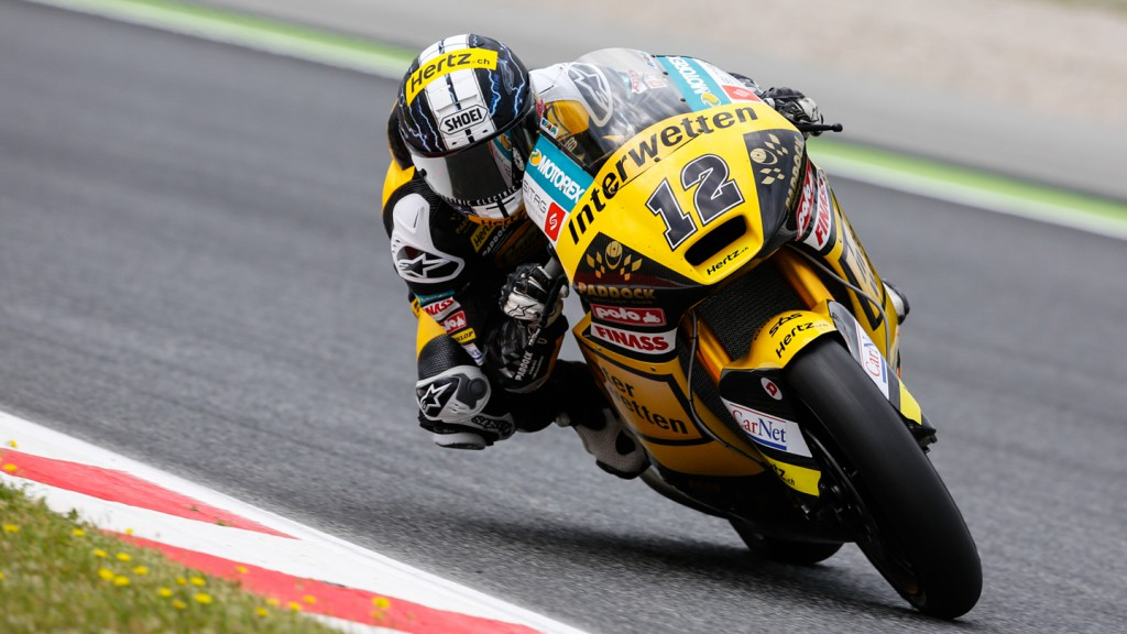 Thomas Luthi, Interwetten Paddock Moto2, CAT Test