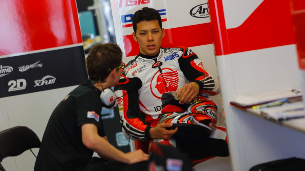 Takaaki Nakagami, IDEMITSU Honda Team Asia, CAT Test