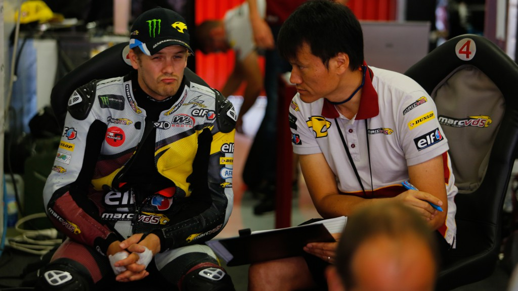 Mika Kallio, Marc VDS Racing Team, CAT Test