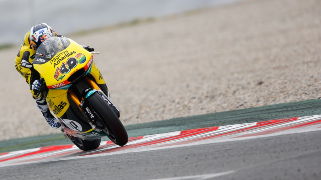 Maverick Viñales, Paginas Amarillas HP 40, CAT Test