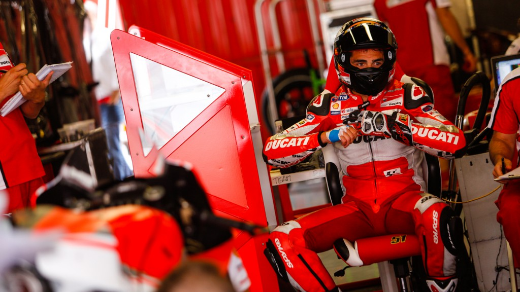 Michele Pirro, Ducati Team, CAT Test