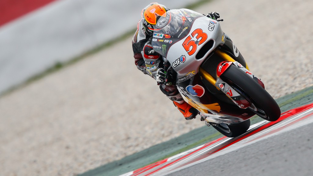 Esteve Rabat, Marc VDS Racing Team, CAT Test