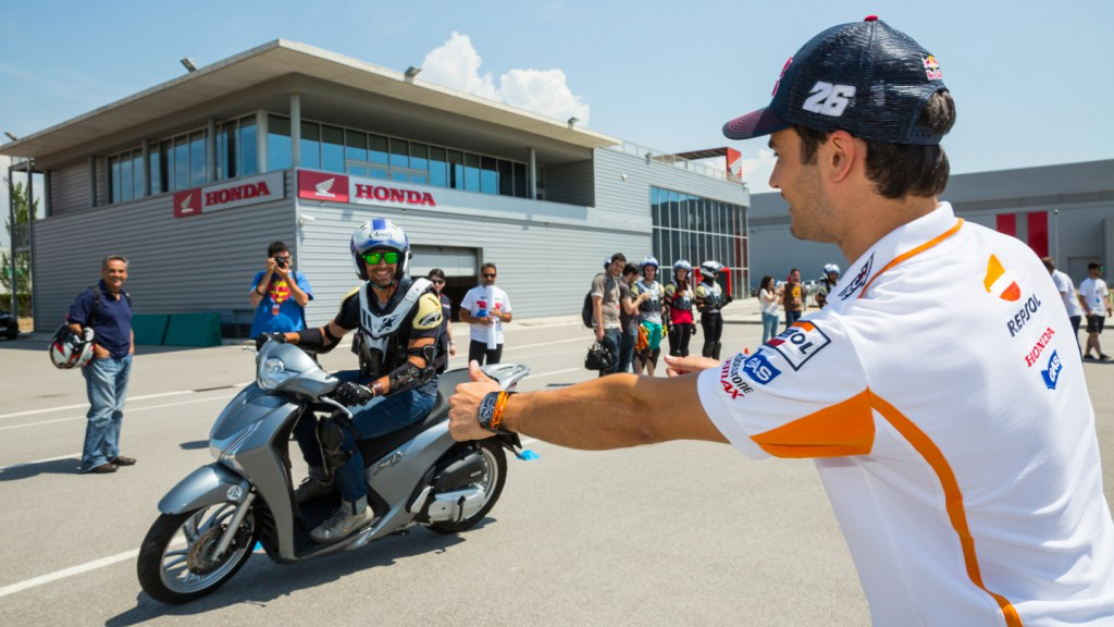 Gran Premi Monster Energy de Catalunya - Marquez and Pedrosa at HIS