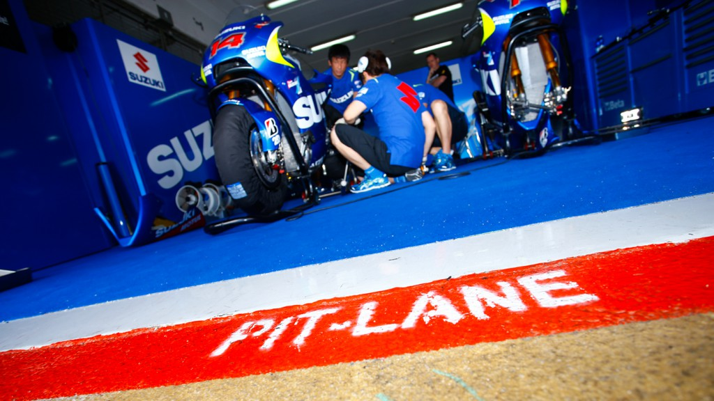 Suzuki MotoGP Test Team, CAT Test