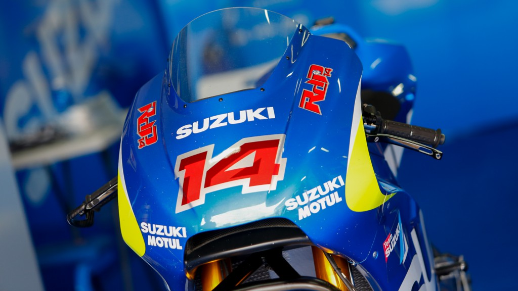 Randy De Puniet's bike, Suzuki MotoGP Test Team, CAT Test