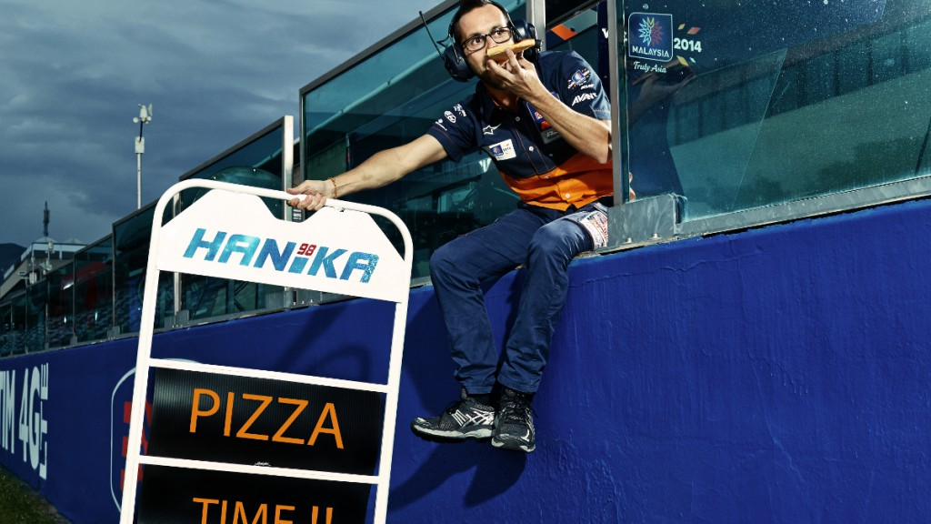 #PizzaTime: Red Bull KTM Ajo © Copyright KTM