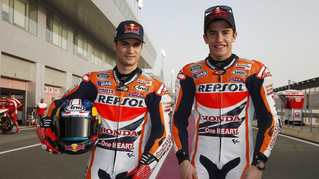 Marc Marquez, Dani Pedrosa, Repsol Honda Team