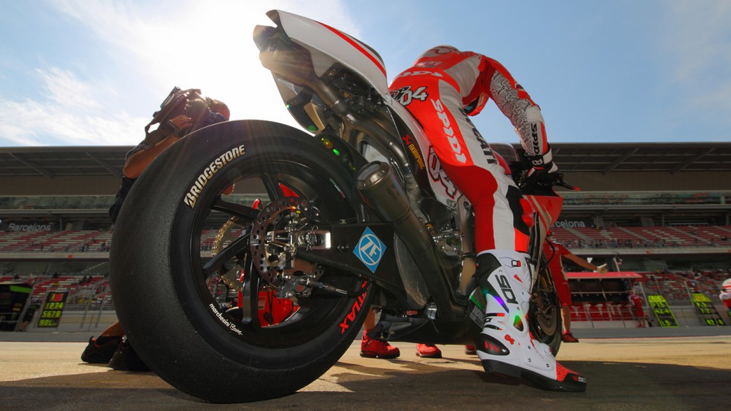 Andrea Dovizioso, Ducati Team, CAT Test