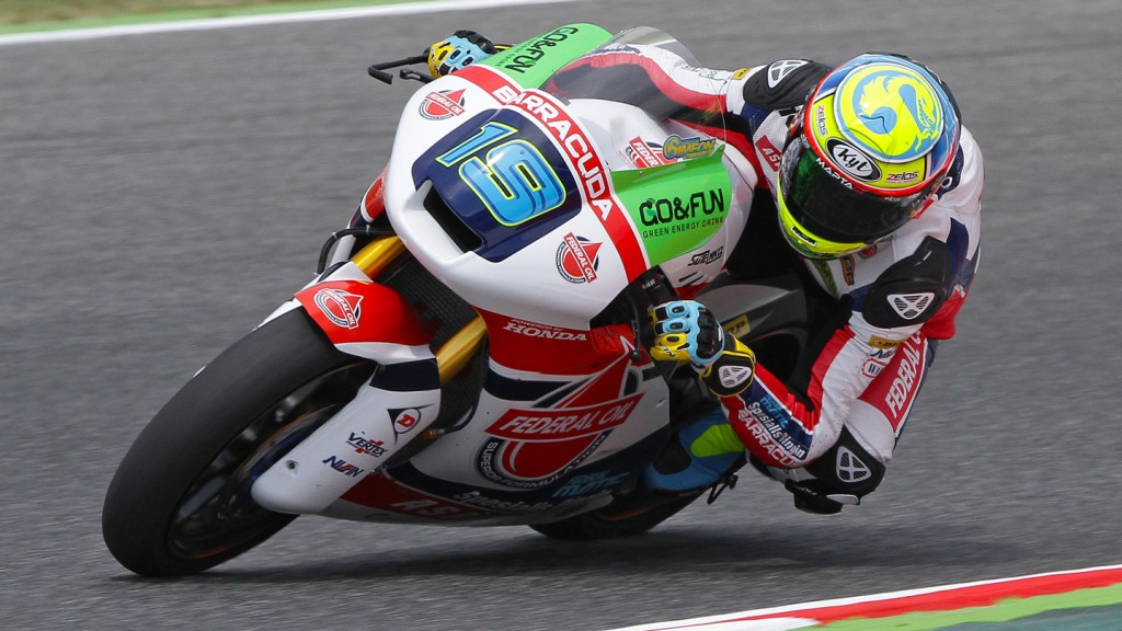 Xavier Simeon, Federal Oil Gresini Moto2 - MotorLand Aragon Test