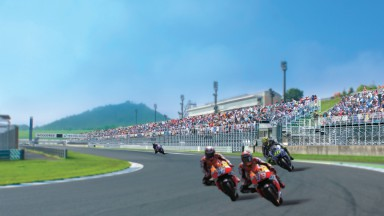 Victory stand tribune, Twin Ring Motegi